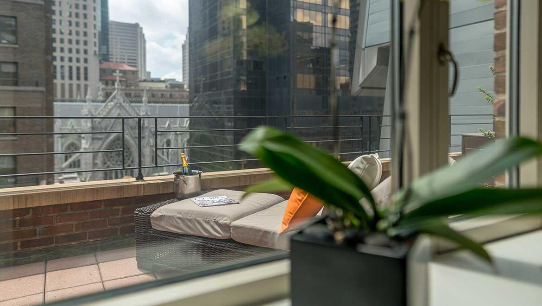 New York Hotel Room With Balcony