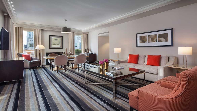 Rodgers Hammerstein Suite Living Room