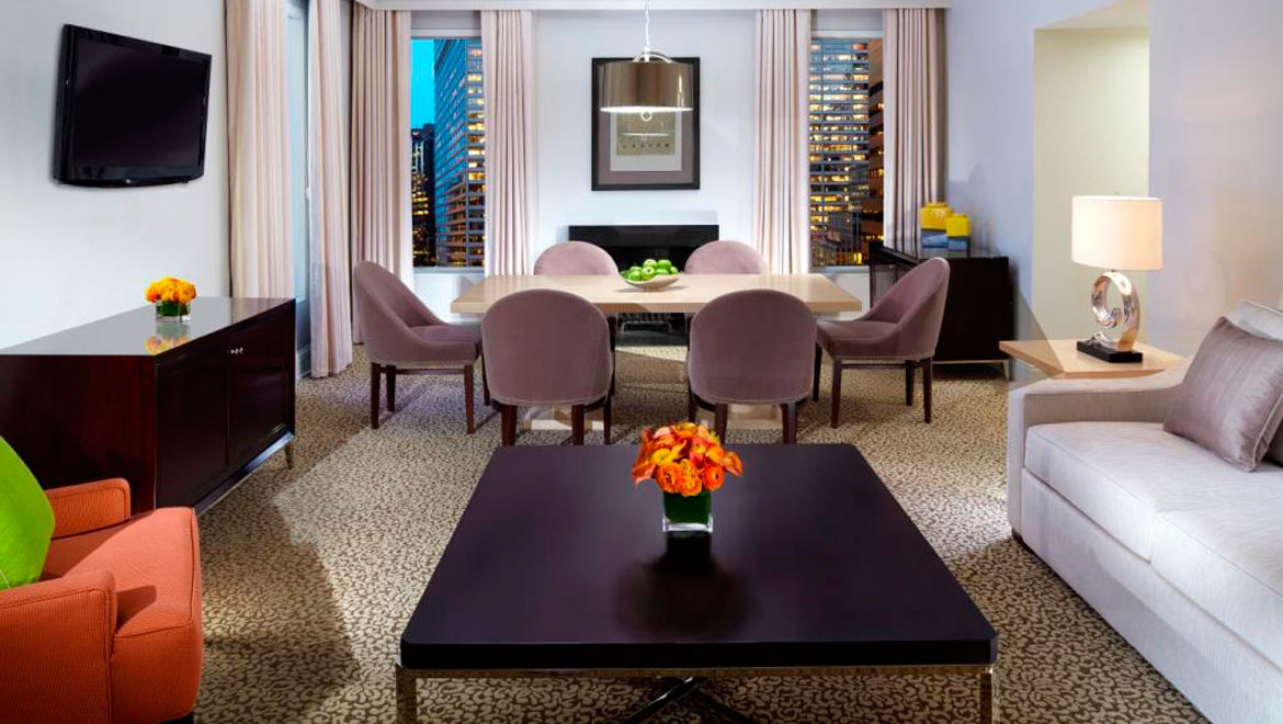 NYC Luxury Suite Accommodations