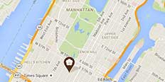 Map Of Manhattan Hotels.Midtown Manhattan Hotels Omni Berkshire Place