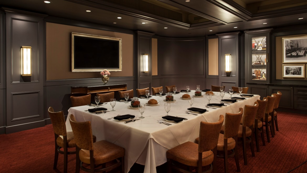 Midtown manhattan restaurants omni berkshire place for Best restaurants with private dining rooms nyc