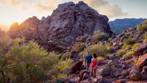 Omni Scottsdale Camelback Mountain Hike