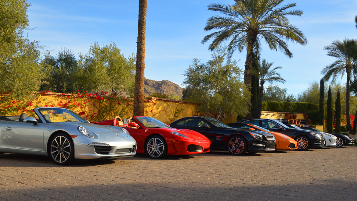 Dream Car Tour Omni Scottsdale Resort Spa At Montelucia