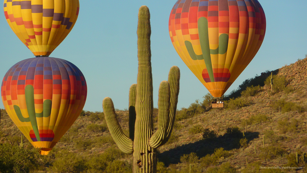 Omni Scottsdale Hot Air Ballooning