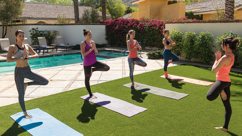 Omni Scottsdale Outdoor Yoga
