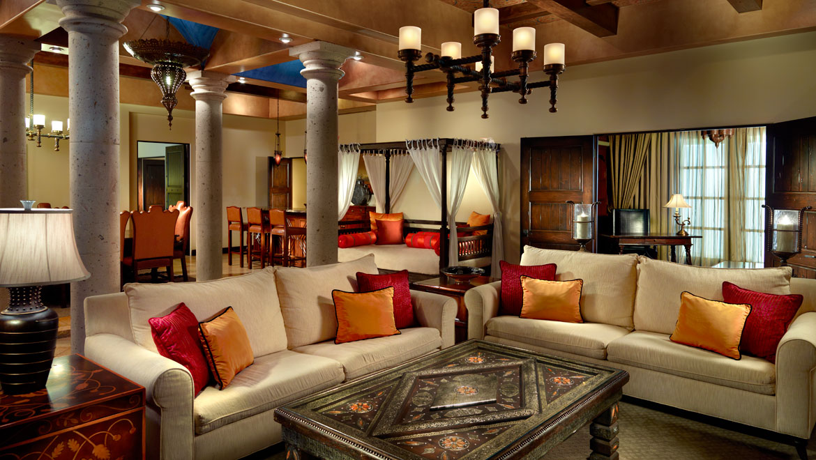 Andalusian Suite Living Area