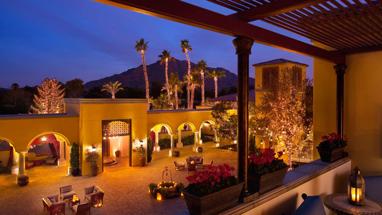Luxury Resorts Arizona History Of Omni Scottsdale Resort