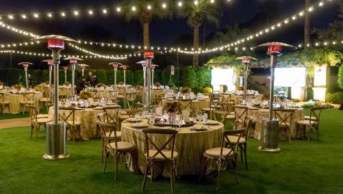 Omni Scottsdale Resort & Spa at Montelucia Valencia Lawn Evening Event