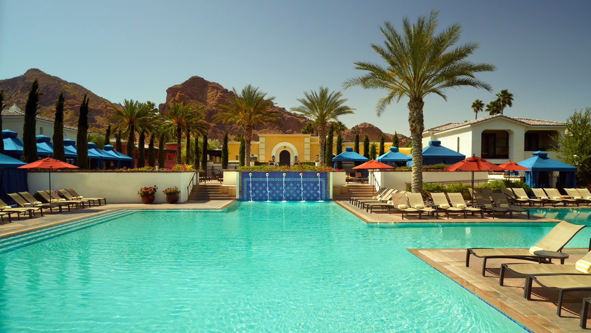 Scottsdale pools omni scottsdale resort spa at montelucia for Pool pictures