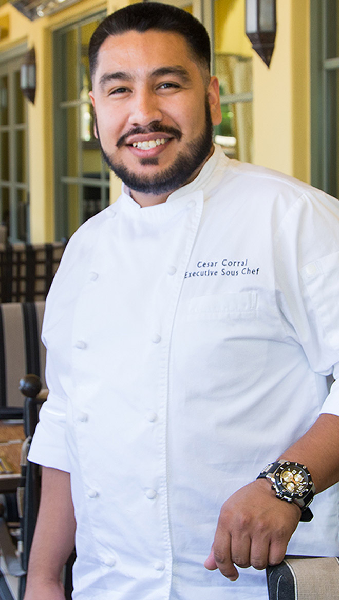 Cesar Corral - Executive Sous Chef - Omni Montelucia