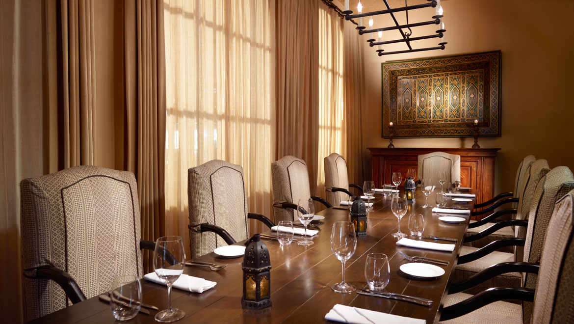 Prado Private Dining Room