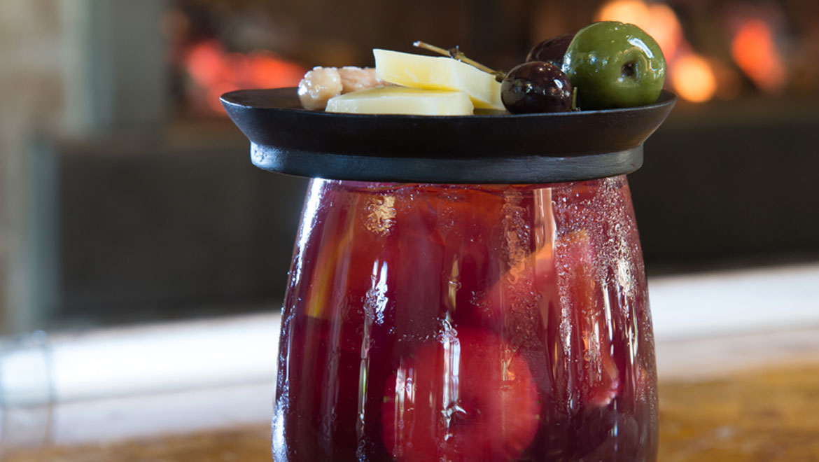 Fruit infused sangria