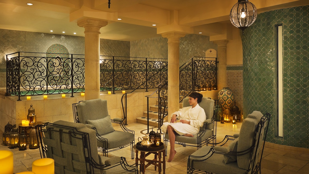 Unwind in the beautiful Joya Spa Relaxation Room