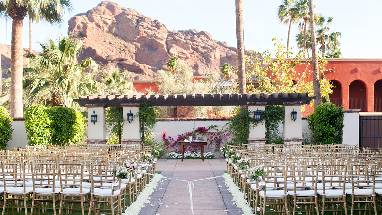 Wedding Venues In Arizona   Omni Scottsdale Resort & Spa