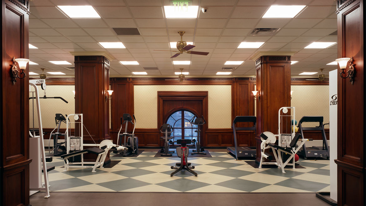 William Penn fitness center