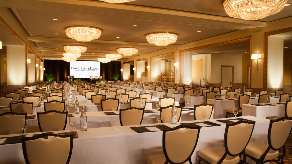 William Penn Hotel ballroom