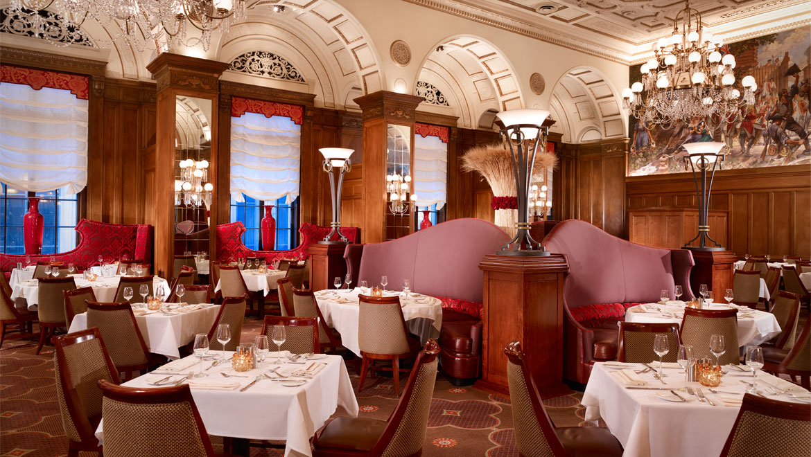 Downtown pittsburgh restaurants omni william penn hotel for Hotel the terrace