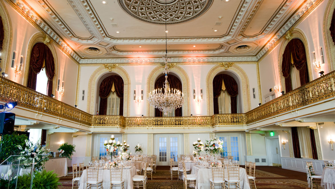 Wedding ballroom at William Penn