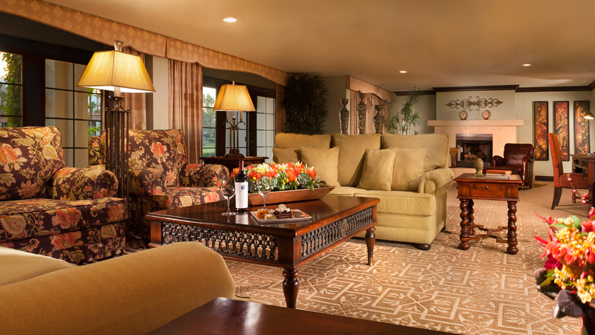Presidential Suite at Omni Rancho Las Palmas