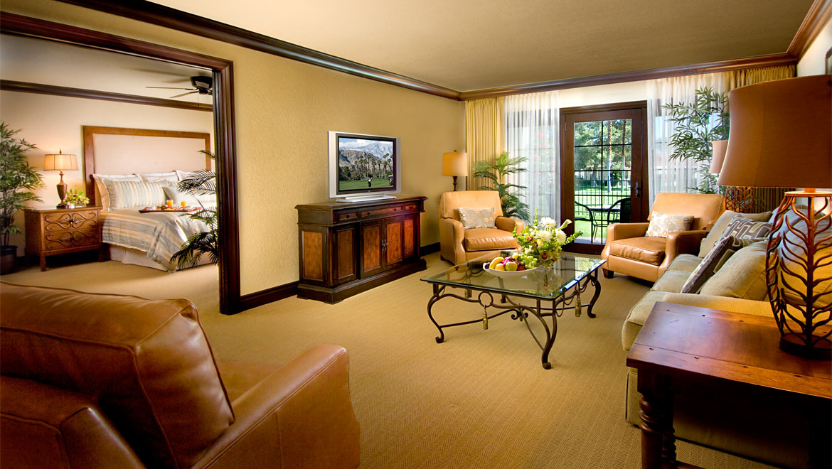Omni Rancho Resort suite