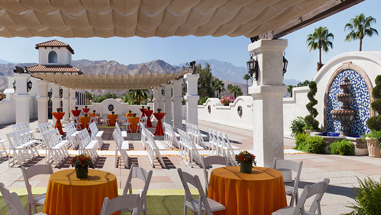 wedding venues in palm springs omni rancho las palmas. Black Bedroom Furniture Sets. Home Design Ideas