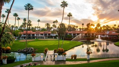 sunrise over rancho las palmas