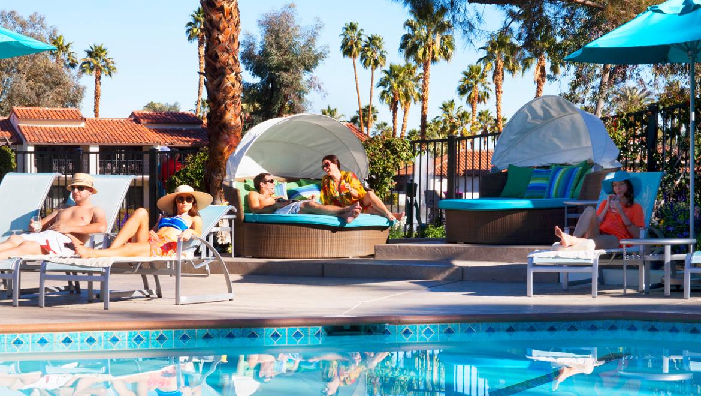 Azure Pool Rancho Mirage Hotel Pool Omni Rancho Las Palmas