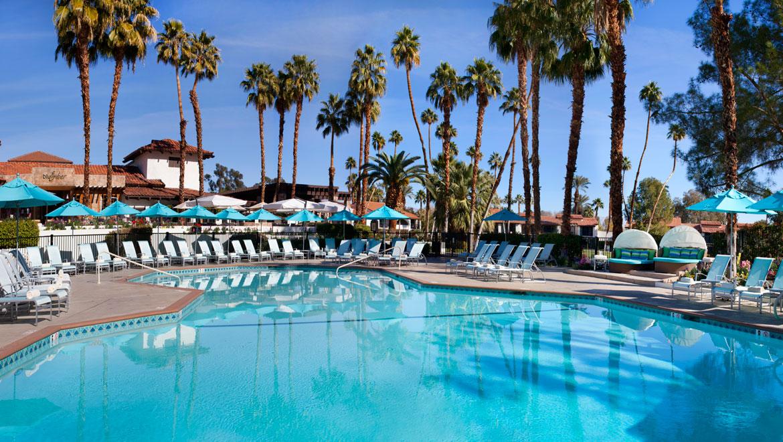 Palm Springs Swimming Pool Amp Water Park Omni Rancho Las