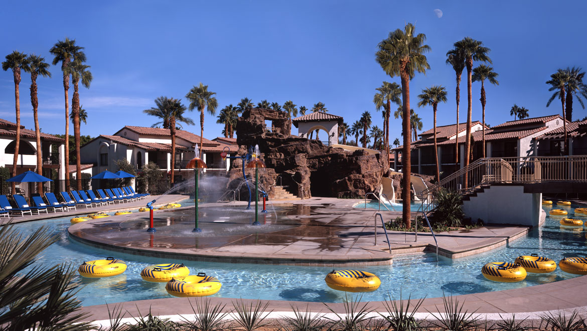Palm Springs Hotels >> Palm Springs Swimming Pool Water Park Omni Rancho Las Palmas