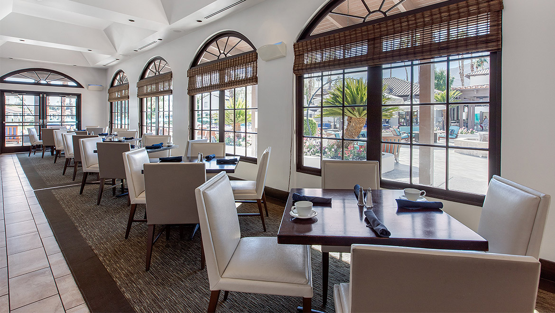 Palm Springs Restaurants Omni Rancho Las Palmas Resort Spa
