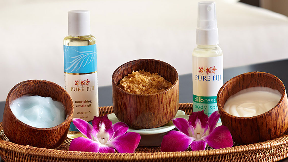 Omni Rancho spa product pure fiji