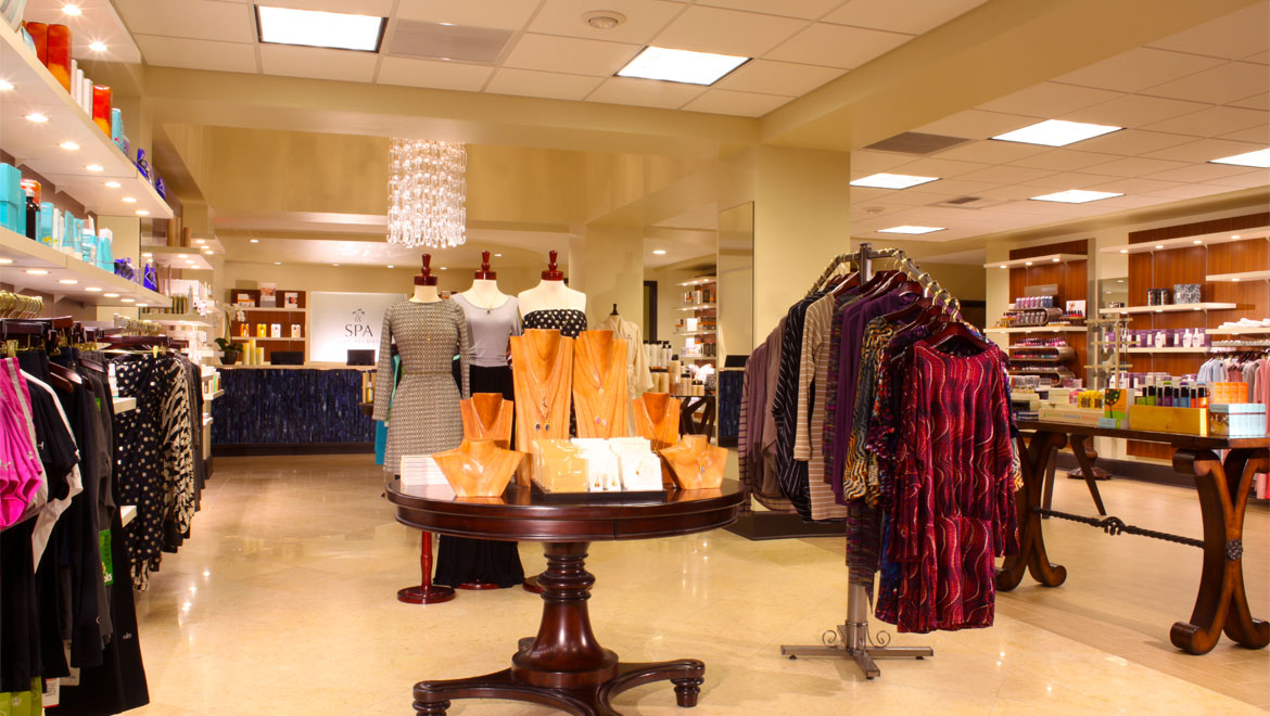 Omni Rancho spa boutique