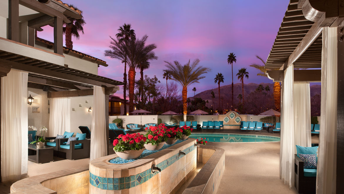 Palm Springs Poolscape