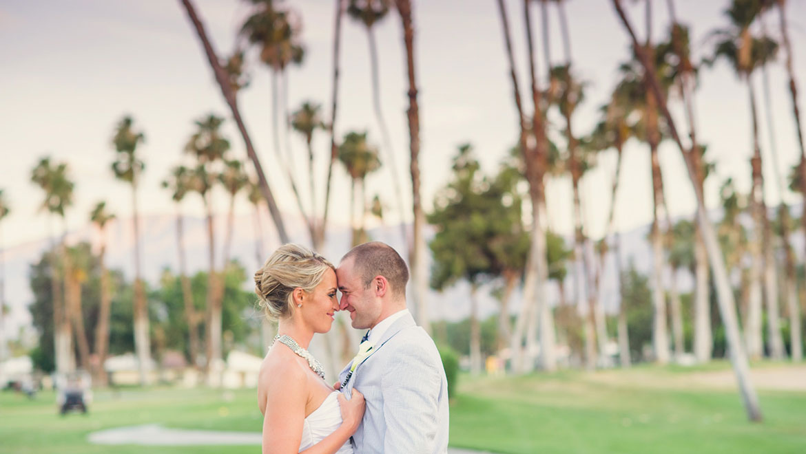 golf course wedding at Omni Rancho