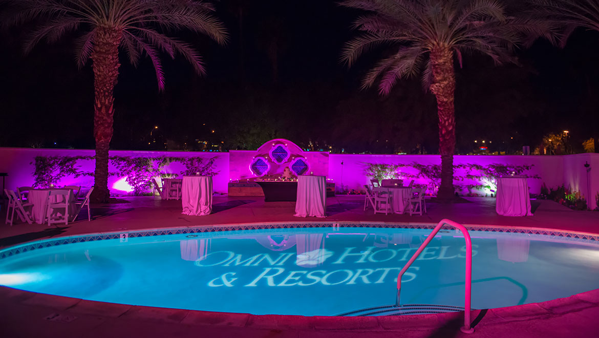 Unwind Poolside at the Spa Courtyard