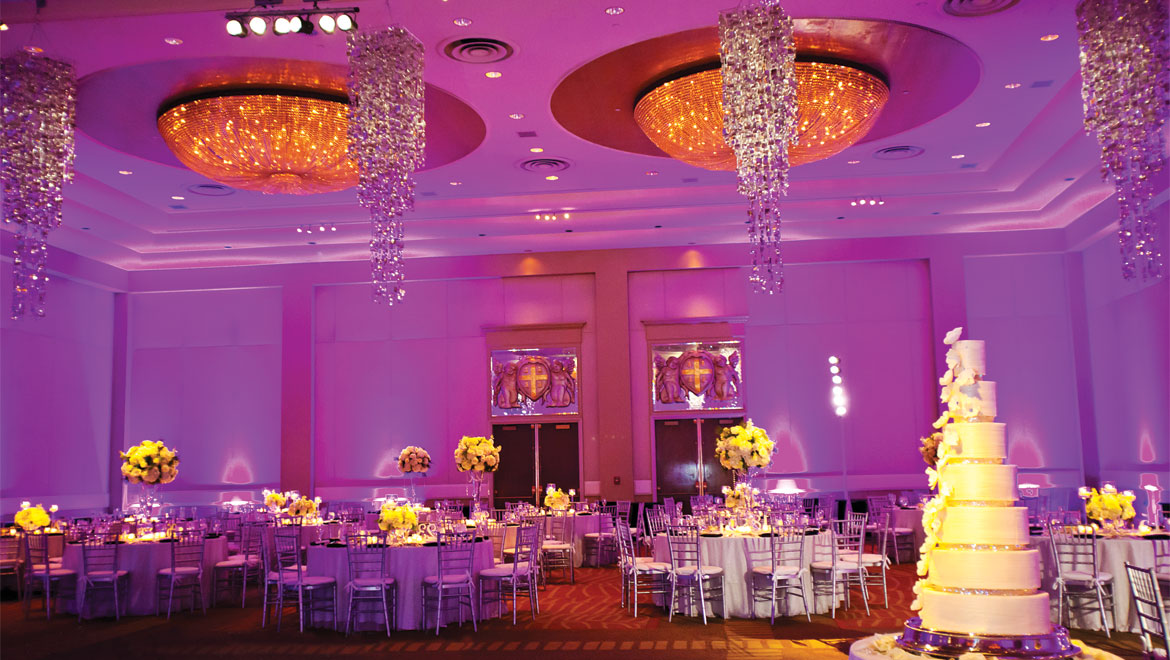 Wedding venue at Providence hotel
