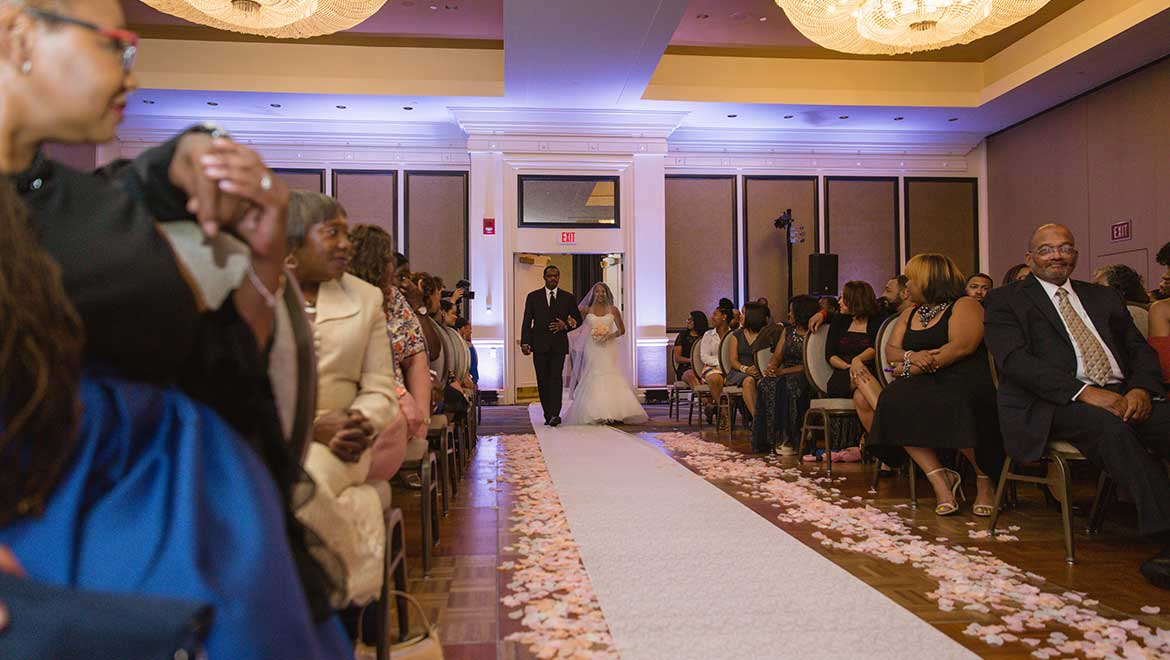 James River Ballroom Ceremony