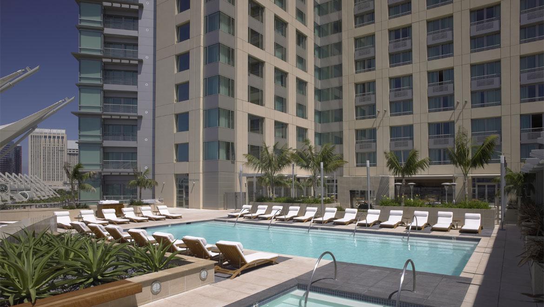 Hotels In San Diego >> San Diego Hotel Pool Omni San Diego Hotel