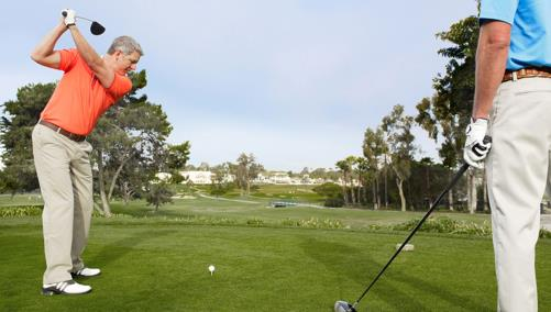 La Costa men playing south side of golf course