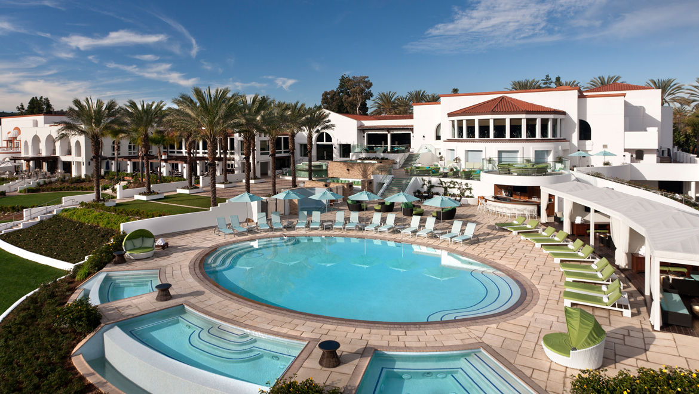 San diego swimming pools slides omni la costa resort spa for Wellness retreat san diego