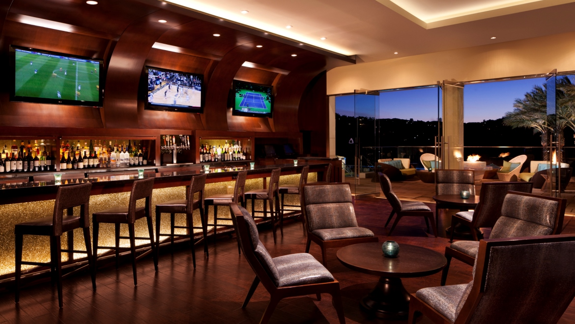 Sports lounge in Carlsbad