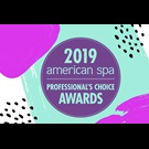2018 American Spa Winner professional's choice awards