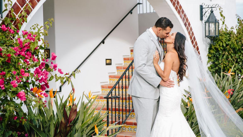 Real Weddings At Omni La Costa