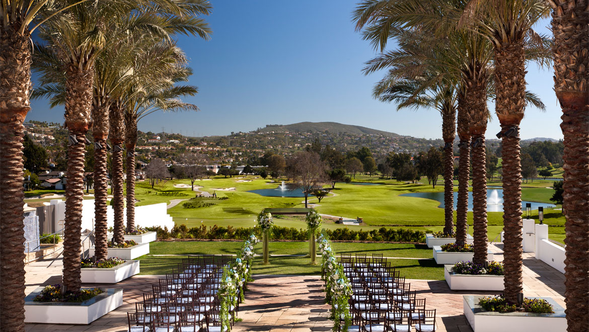 La Costa outdoor wedding venue
