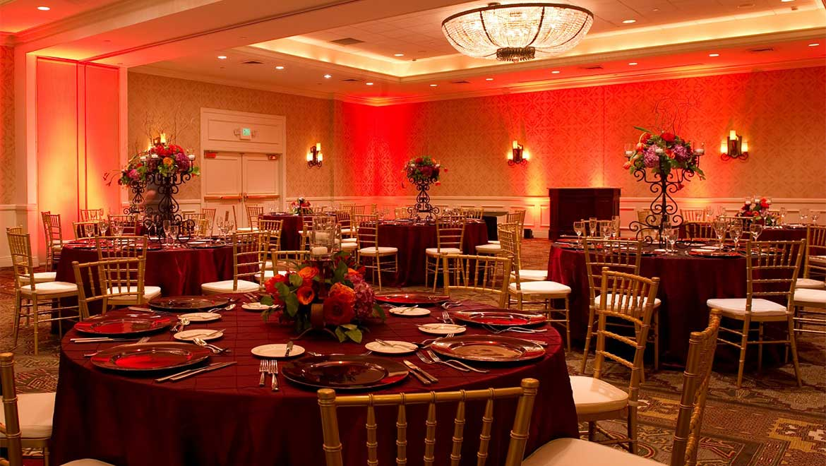Madero Room wedding reception