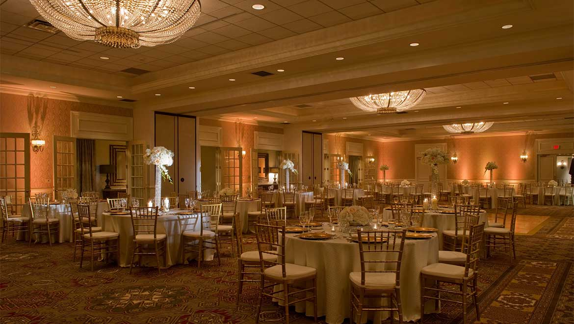 Iberian Room wedding reception