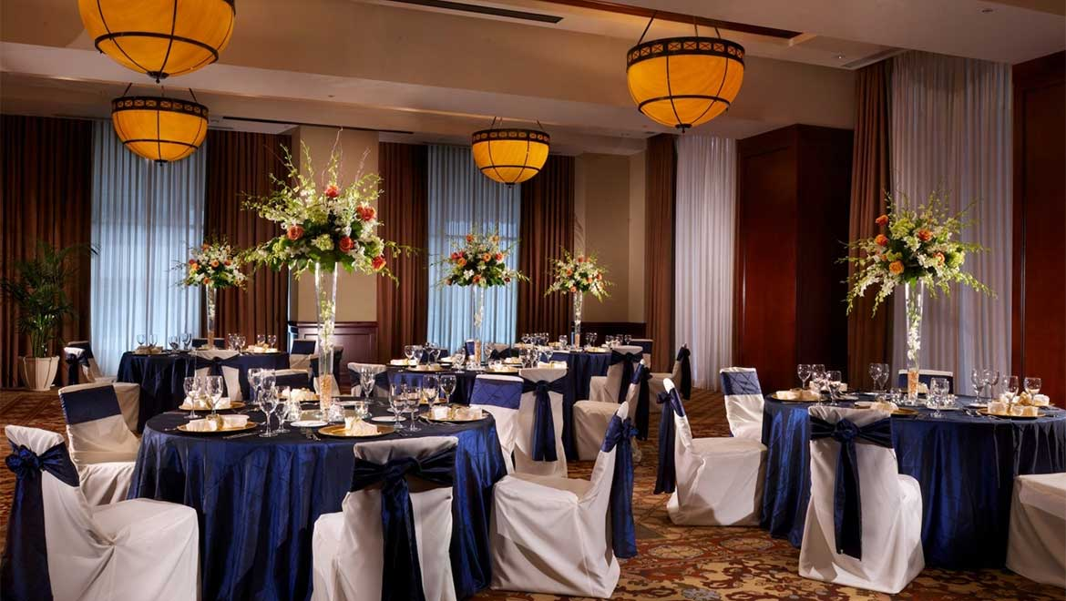 Saddlery Ballroom wedding reception