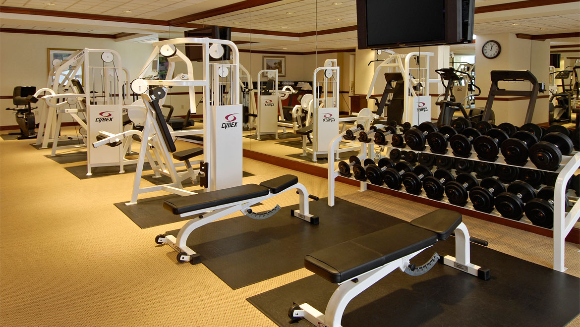 Downtown san francisco hotel fitness omni