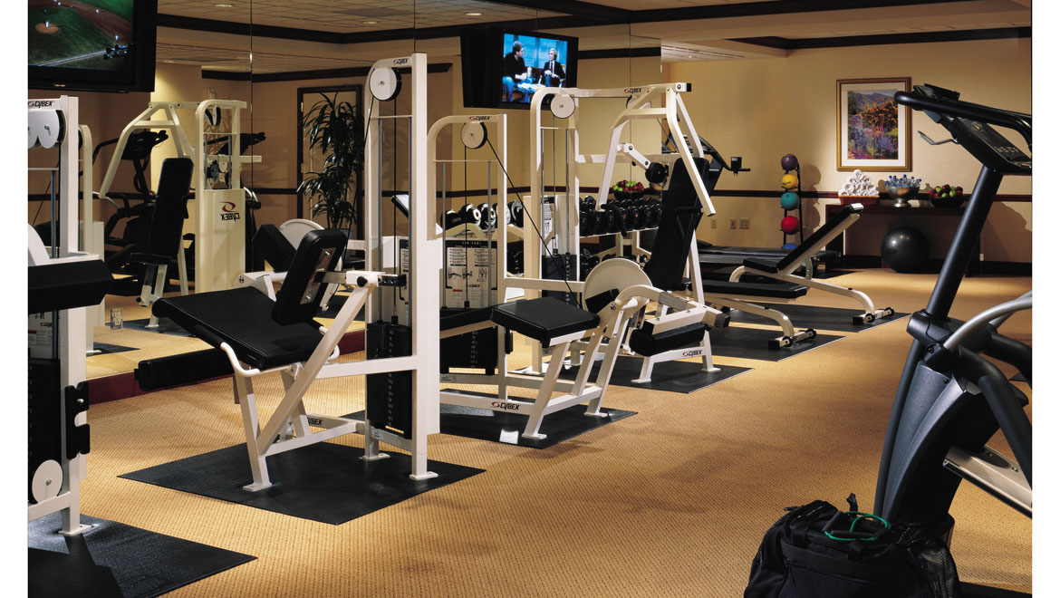 San Francisco fitness room