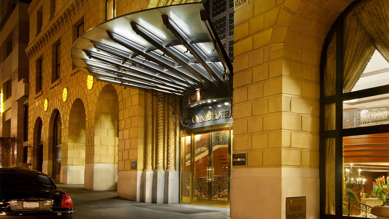 San Francisco Hotel Entrance